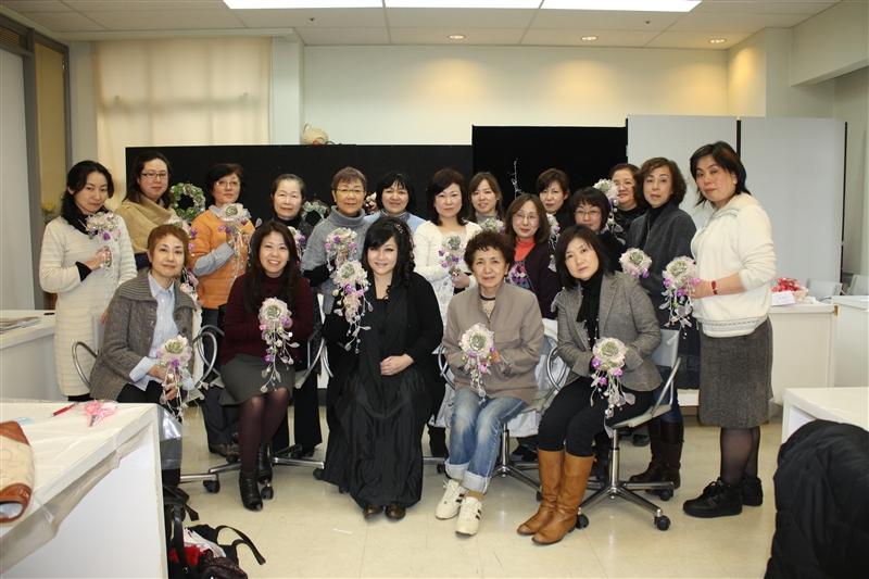 KAORUKOフラワーデザイン総合研究所 春の研究セミナー